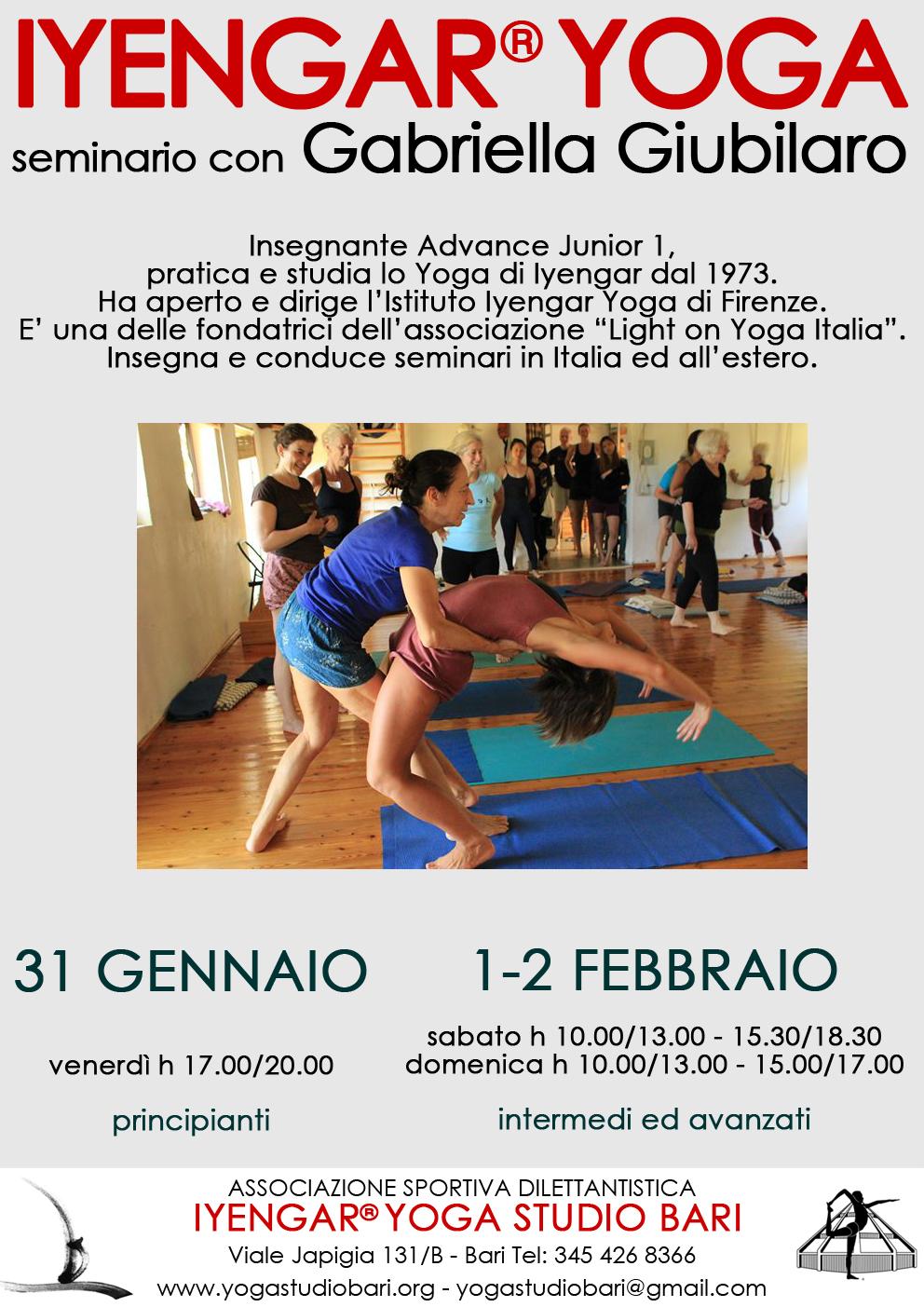 seminario Gabriella Giubilaro – 2020